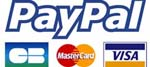 Secured payment by credit card or Paypal account
