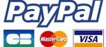 Paiement sécurisé par cartes bancaires ou compte Paypal