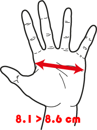 taille des gants
